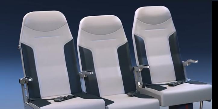 El asiento del medio en los aviones: el mejor de todos