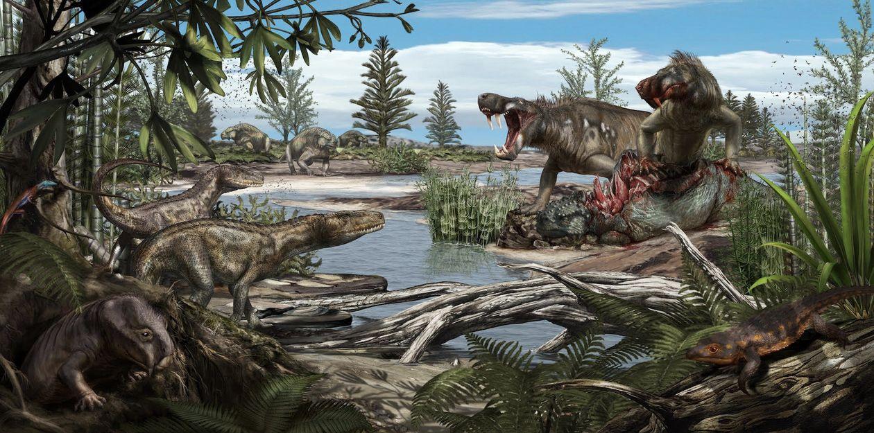 Lo que podemos aprender de los ecosistemas de hace 200 millones de años