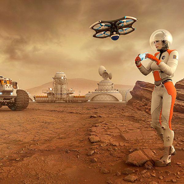 Resultado de imagen de Se puede vivir en Marte : Respuestas científicas 4.jpg