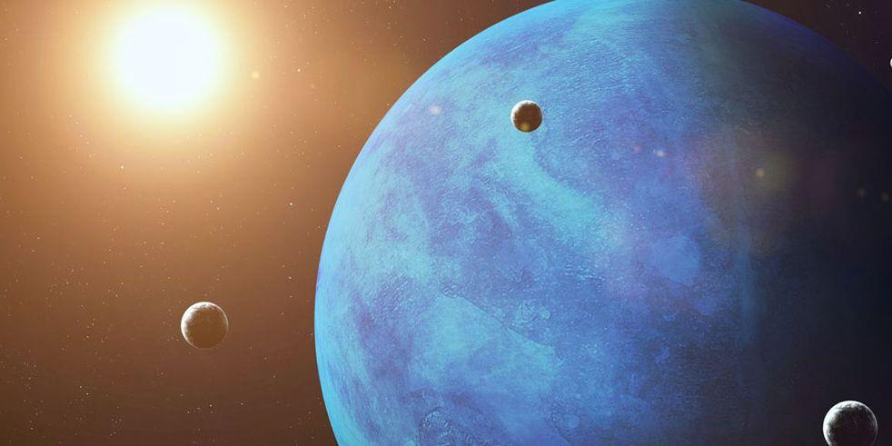 Si no tiene agua, ¿Por qué Neptuno es azul?