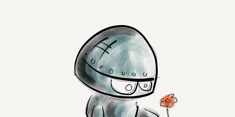 ¿Sueñan los robots con regalar rosas eléctricas?
