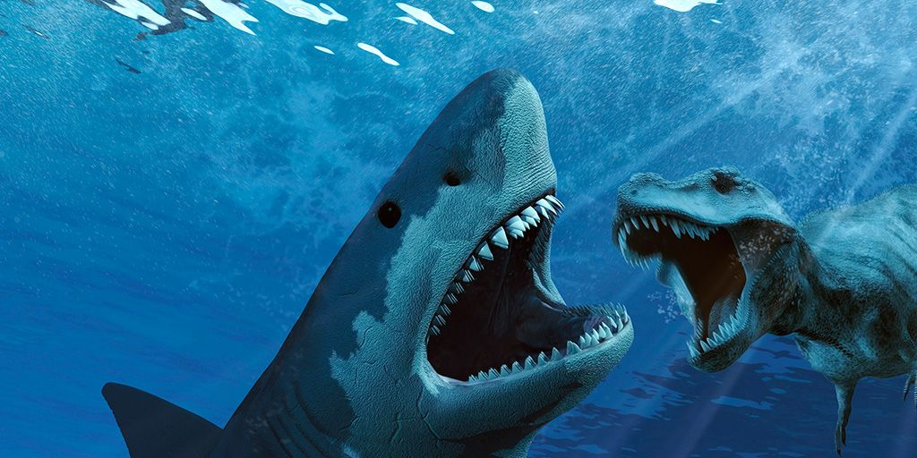 Tiranosaurio Rex vs Megalodón: ¿Cuál dirías que fue el más aterrador?