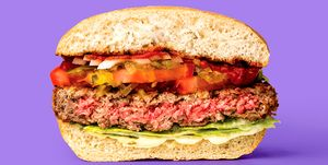 Falsa hamburguesa- La hamburguesa imposible