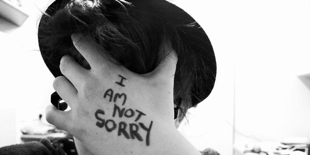 No digas tanto 'Lo siento', puede ser incluso peor