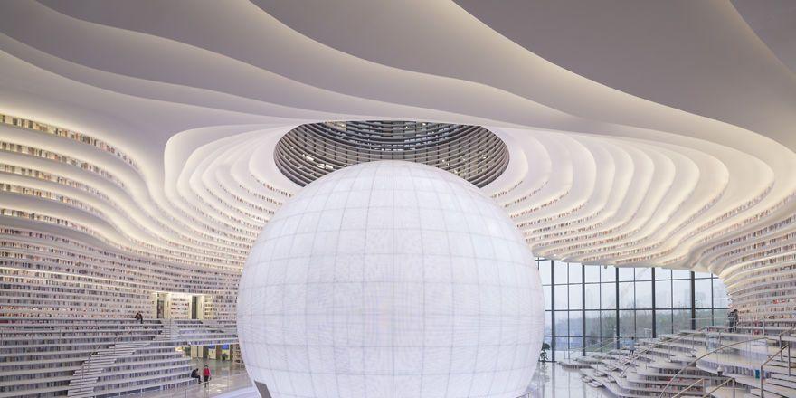 ¿Es esta una de las bibliotecas más impresionantes del mundo?