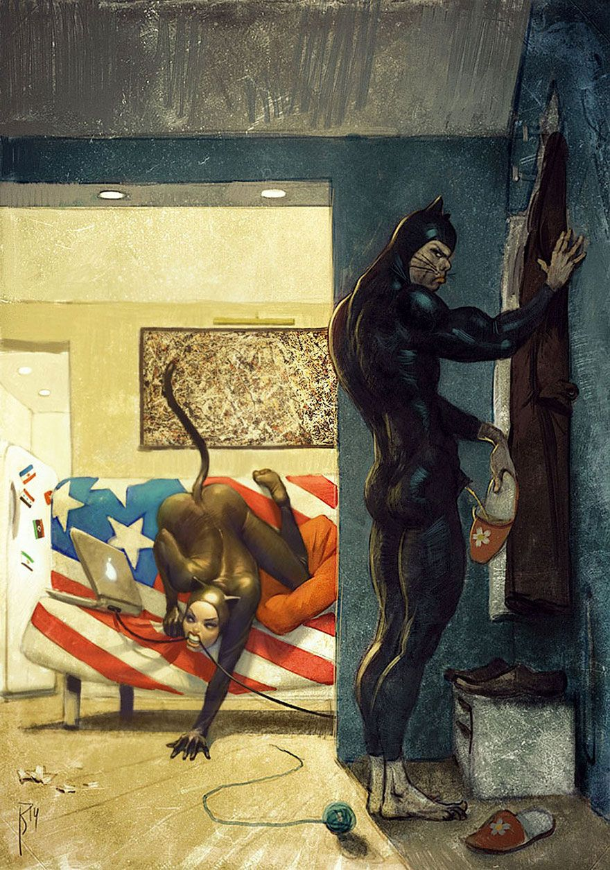 >>>Ilustraciones Satíricas..>>> - Página 2 Dark-surreal-digital-art-waldemar-von-kozak-41