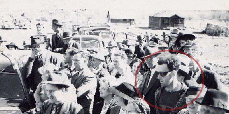 La foto del hombre que viajó al pasado