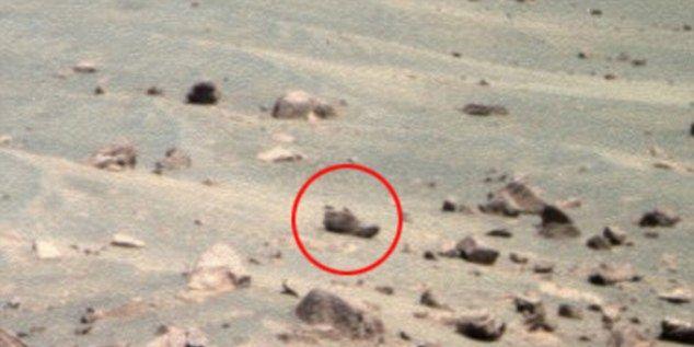 ¿Quién ha perdido un zapato en Marte?