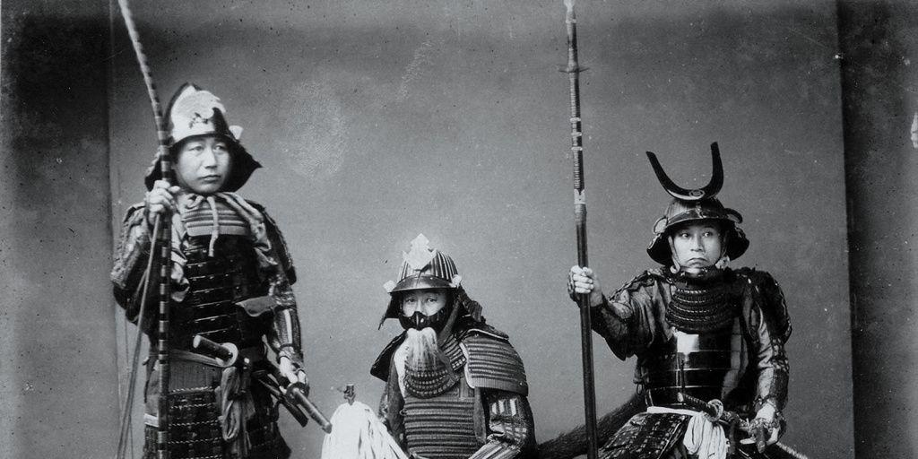 Revelan el secreto de los samuráis para dejar ciegos a sus enemigos