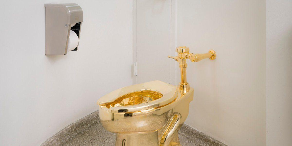 """Un """"trono"""" de oro de 1 millón de dólares para el presidente de EEUU"""