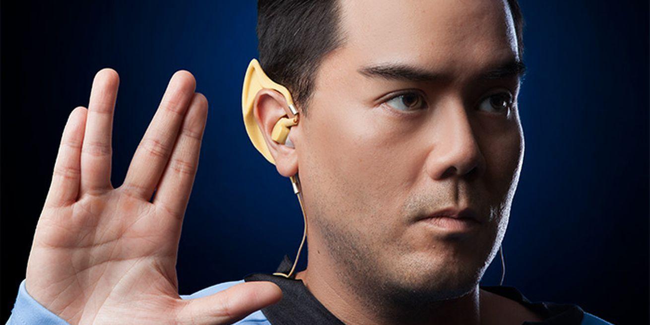 Conviértete en todo un vulcano de Star Trek con estos auriculares inalámbricos