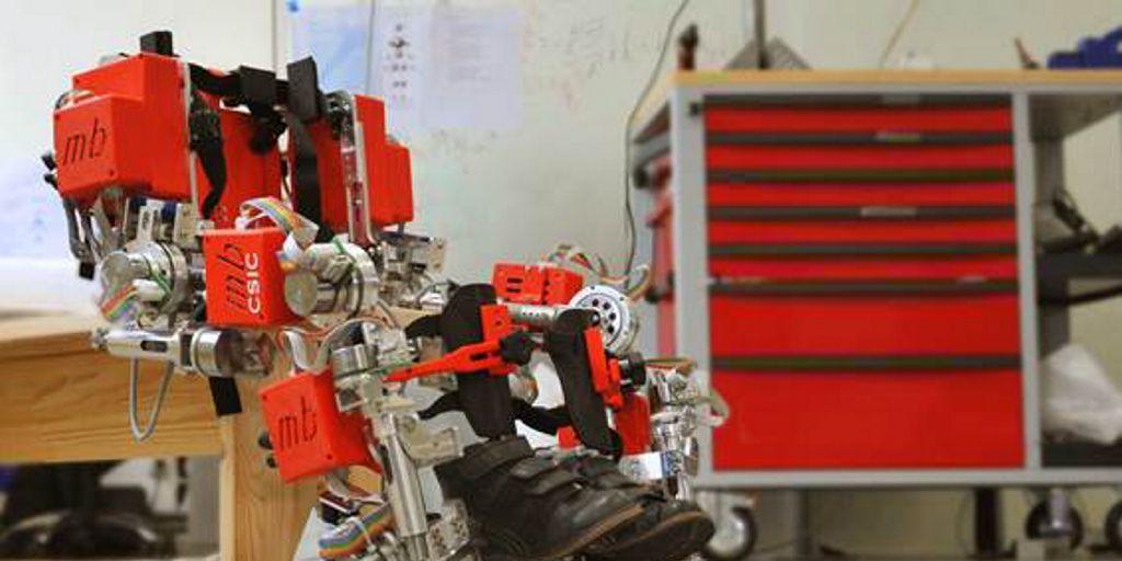 El exoesqueleto del CESIC elegido entre los mejores proyectos robóticos