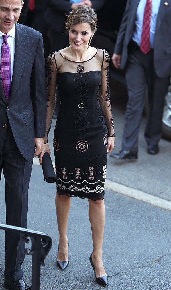 Vestidos de coctel de letizia