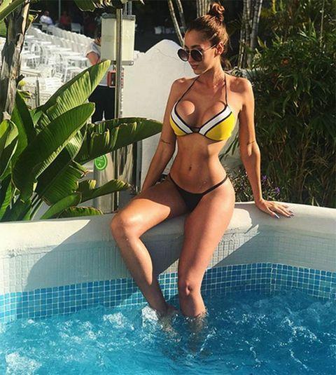 Bikini, Clothing, Swimwear, Beauty, Summer, Leg, Thigh, Fun, Vacation, Leisure,