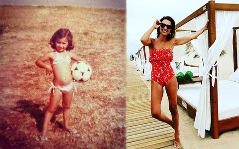 Summer, Fun, Swimwear, Leg, Vacation, Child model, One-piece swimsuit, Photography, Child, Maillot,