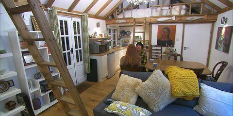 Room, Property, Furniture, Building, House, Bedroom, Home, Bed, Interior design, Cottage,