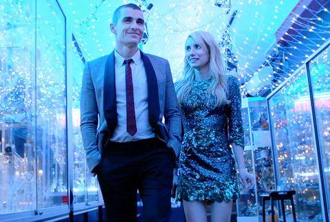 Dave Franco y Emma Roberts en una escena de 'Nerve'