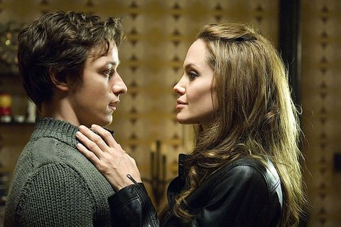 Wanted (Se busca) (2008) James McAvoy y Angelina Jolie