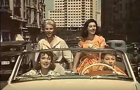 Motor vehicle, People, Vehicle, Automotive exterior, Mode of transport, Fun, Snapshot, Car, Amusement ride, Mid-size car,