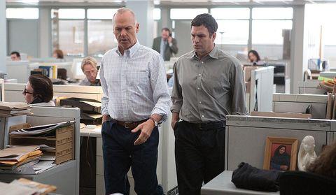 Spotligh (2015) Mark Ruffalo y Michael Keaton
