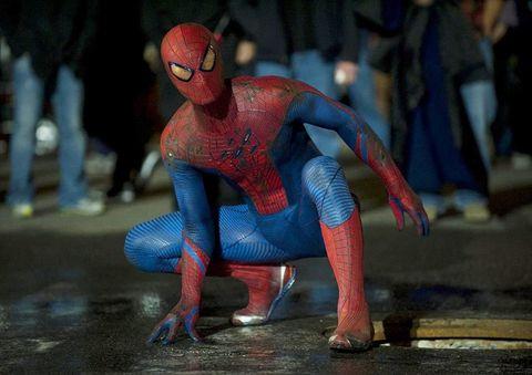 Spider-man, Superhero, Fictional character, Flesh, Costume,