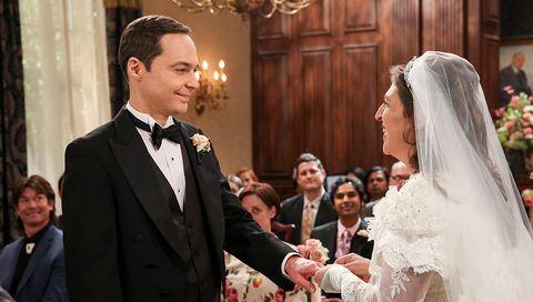 Photograph, Facial expression, Suit, Formal wear, Event, Wedding dress, Veil, Ceremony, Dress, Bridal clothing,