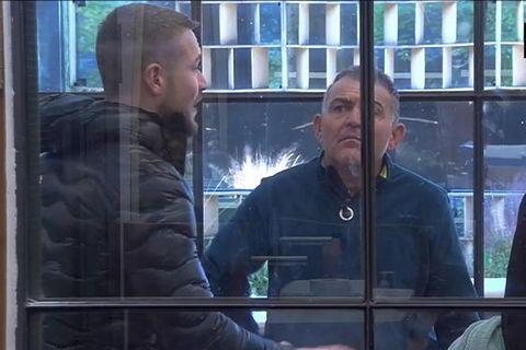 Conversation, Snapshot, Human, Window, Glass, Passenger, Screenshot,