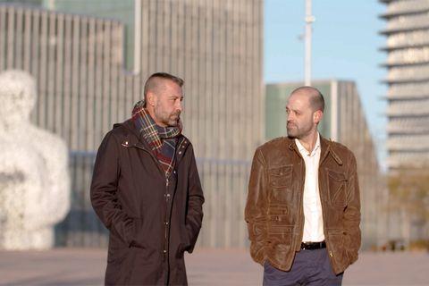 Jacket, Outerwear, Gesture, Leather jacket,