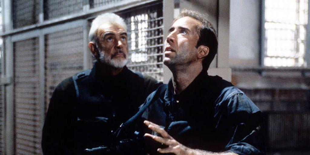 Sean Connery y Nicolas Cage, aliados en 'La roca'
