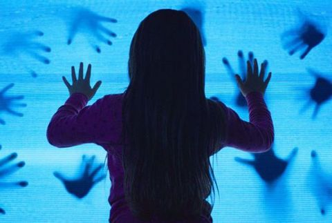 Blue, Youth, Sky, Shadow, Silhouette, Hand, Electric blue, Organism, Fun, Photography,