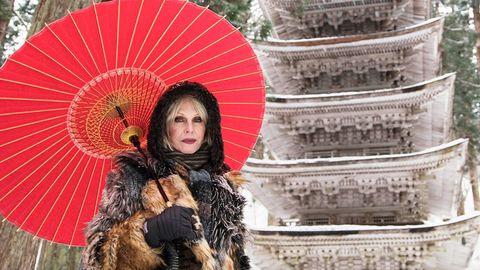 Umbrella, Fashion accessory, Photography, Travel, Temple, Tourism, Smile,