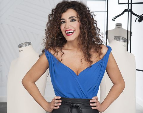 Hair, Shoulder, Clothing, Blue, Hairstyle, Beauty, Dress, Cocktail dress, Lip, Neck,