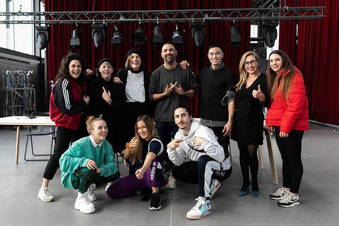 Social group, Team, Event, Performance, Dance,