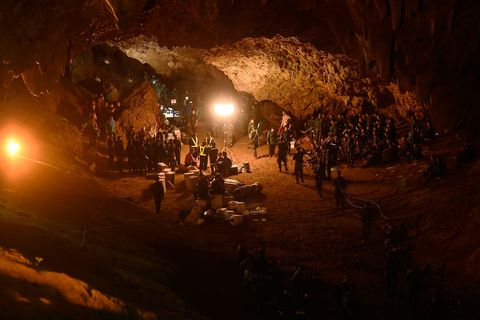 Caving, Cave, Geological phenomenon, Formation, Darkness, Miner, Night, Lava tube,