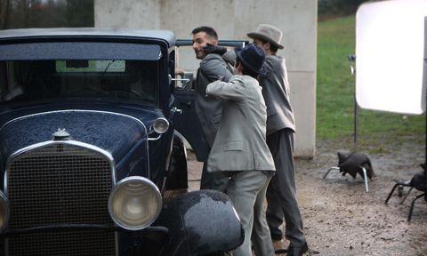 Land vehicle, Motor vehicle, Vehicle, Car, Vintage car, Classic, Classic car, Antique car, Sedan, Coupé,