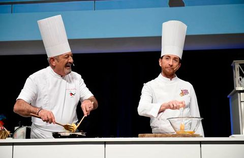 Cook, Chef, Chief cook, Chef's uniform, Cooking, Culinary art, Job, Food, Uniform, Cooking show,