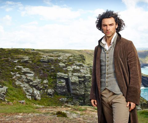 aidan turner  poldark  jacket, khaki, bedrock, outcrop, fell, top, tundra, leather,