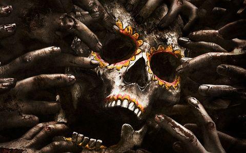 Black, Tooth, Bone, Sunglasses, Nail, Skull, Natural material, Stock photography,