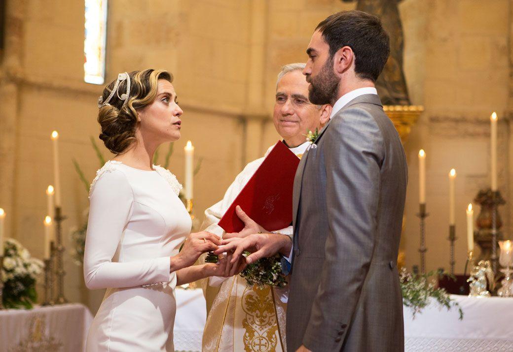 boda con sorpresa en el final de 'allí abajo'