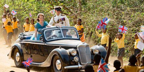 People, Vehicle, Land vehicle, Classic car, Photograph, Car, Classic, Antique car, Fender, Hat,