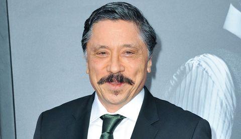 Moustache, Forehead, Businessperson, White-collar worker, Facial hair, Spokesperson,