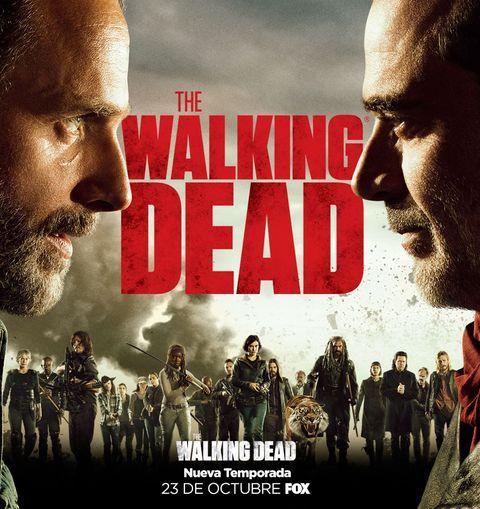 Fox anuncia el estreno de la octava temporada de \'The Walking Dead\'