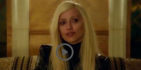 Hair, Blond, Face, Eyebrow, Long hair, Hairstyle, Lip, Layered hair, Beauty, Hair accessory,