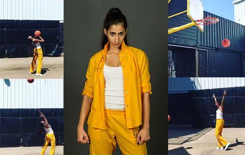 Yellow, Fashion, Outerwear, Jacket, Photography, Art, Style, Street fashion, Blazer,