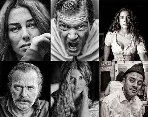 Face, People, Facial expression, Head, Black-and-white, Human, Photography, Fun, Art, Monochrome photography,