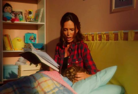 Reading, Sitting, Room, Long hair,