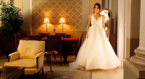 Wedding dress, Gown, Dress, Bride, Bridal clothing, Photograph, Clothing, Formal wear, Bridal accessory, Bridal party dress,