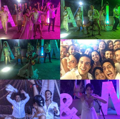 Entertainment, Green, Performing arts, Event, Purple, Collage, Magenta, Performance, Party, Performance art,