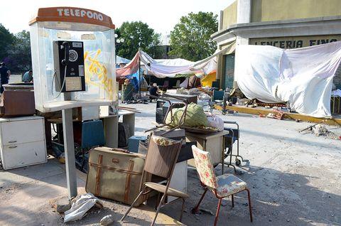 Tent, Tarpaulin, Stool, Camping, Box,
