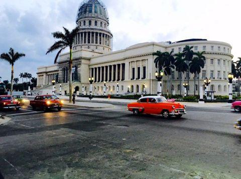 Land vehicle, Dome, Automotive parking light, Car, Building, Dome, Metropolitan area, Byzantine architecture, Automotive lighting, Government,